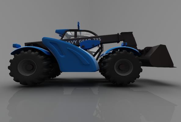 现代风格小车3D模型【ID:443621793】