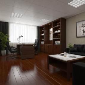 办公室 3D模型【ID:941559024】