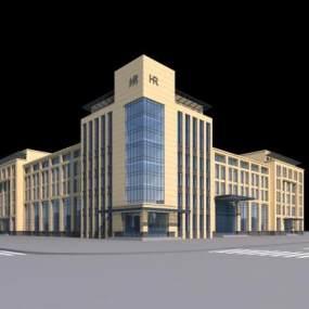 欧式办公楼3D模型【ID:133233998】
