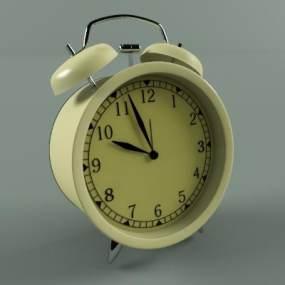 現代鬧鐘擺件 3D模型【ID:341519375】