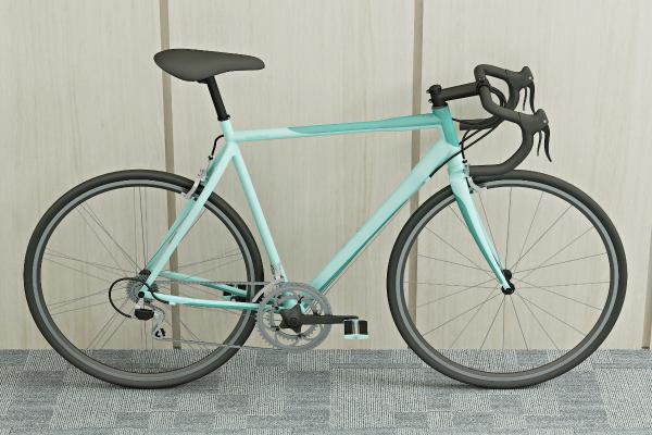 现代自行车3D模型【ID:434914622】