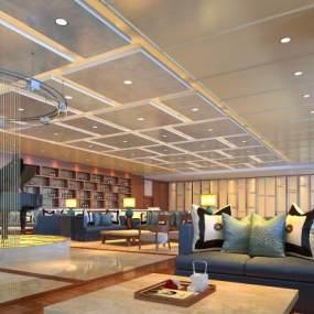 機場酒店3D模型【ID:642749583】
