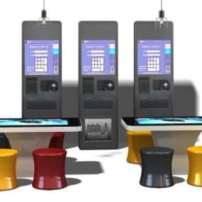 现代取票机3D模型【ID:232530717】