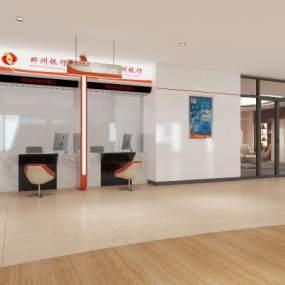 現代銀行業務3D模型【ID:943381989】