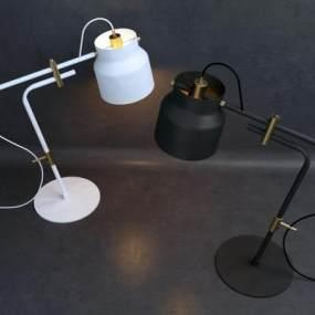北欧台灯3D模型【ID:832837189】