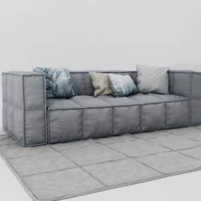 现代沙发3D模型【ID:632358635】