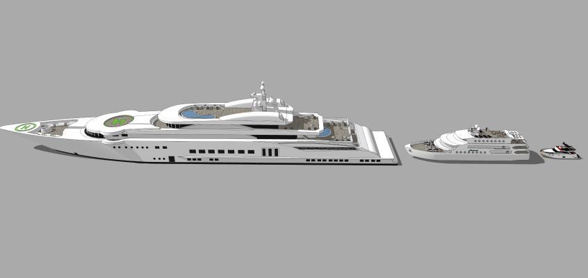 船SU模型【ID:644054302】
