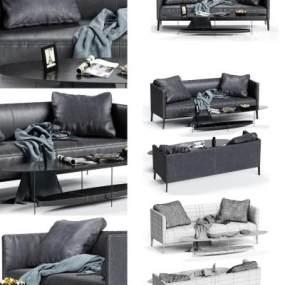 现代沙发组合3D模型【ID:635771556】