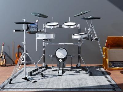 現代實用樂器3D模型【ID:335746946】