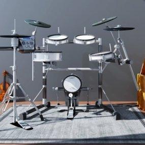 现代实用乐器3D模型【ID:335746946】
