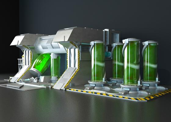 化工厂3D模型【ID:241641355】