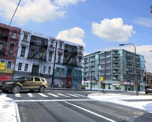 街区3D模型【ID:141650771】