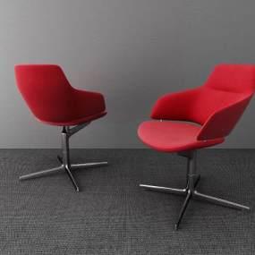 现代办公椅3D模型【ID:736213427】