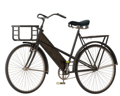 老爺自行車3D模型【ID:441511609】