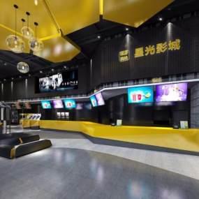 现代电影院3D模型【ID:635812886】