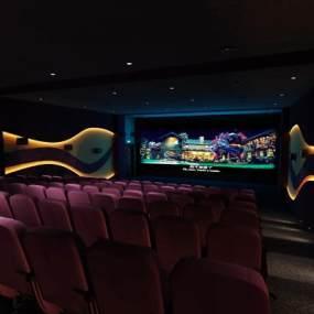 现代电影院3D模型【ID:631666812】