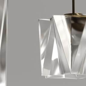 现代水晶吊灯3D模型【ID:730449847】