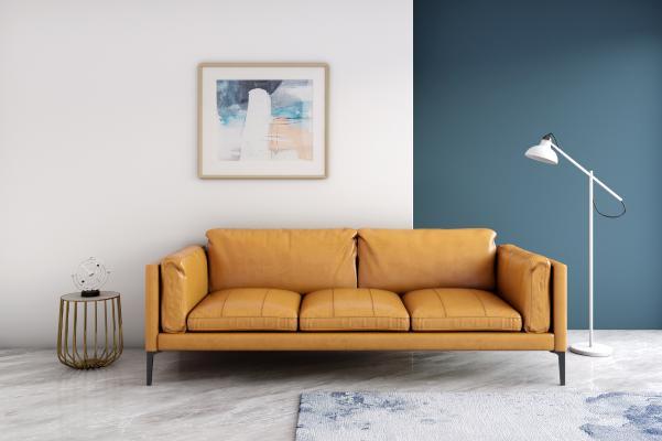 现代多人沙发模型3D模型【ID:641424654】