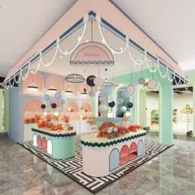 北歐風格糖果店3D模型【ID:951114899】