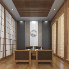 新中式茶馆3D模型【ID:635595613】
