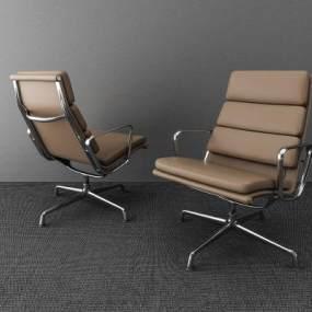 现代办公椅 3D模型【ID:736213434】
