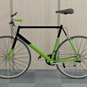 现代自行车3D模型【ID:433756680】