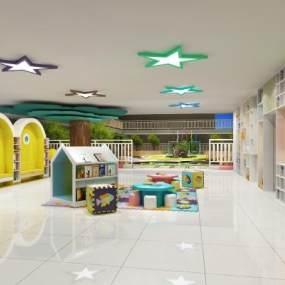幼儿园 3D模型【ID:941400635】
