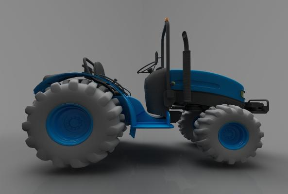 现代风格小车3D模型【ID:443622718】