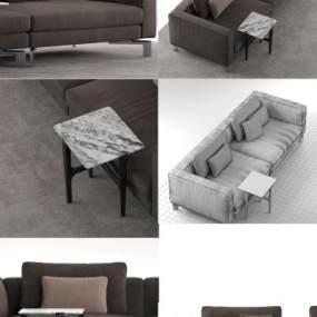 现代沙发3D模型【ID:635770652】