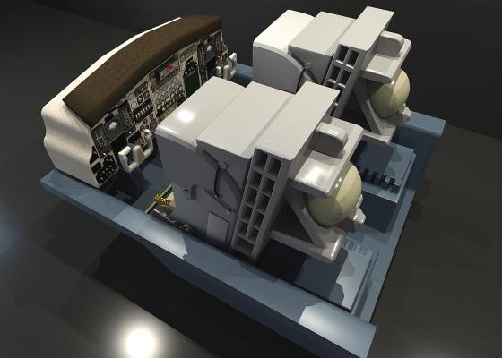 驾驶室3D模型【ID:441768980】