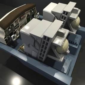 駕駛室3D模型【ID:441768980】