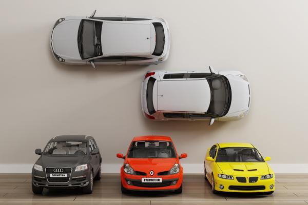 現代私家車3D模型【ID:442261777】
