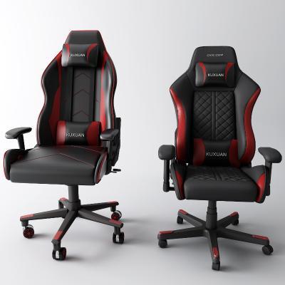 現代電競椅3D模型【ID:750321782】