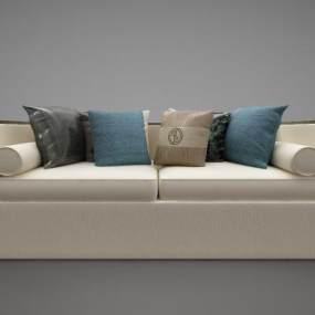 新中式风格沙发3D模型【ID:645854626】