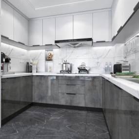 廚房用品 3D模型【ID:141579785】