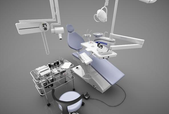 現代風格器材3D模型【ID:248661563】