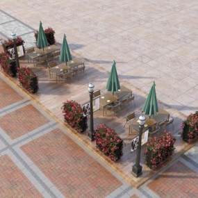 北欧园林小品3D模型【ID:135846425】