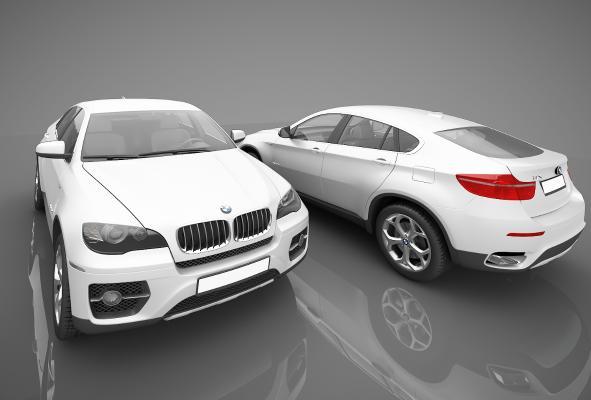 現代風格小汽車3D模型【ID:441858797】