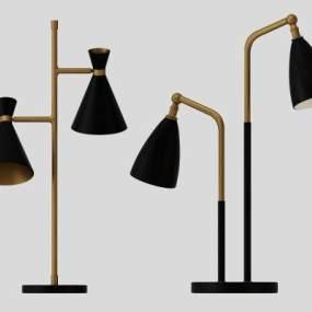 现代台灯3D模型【ID:835943187】