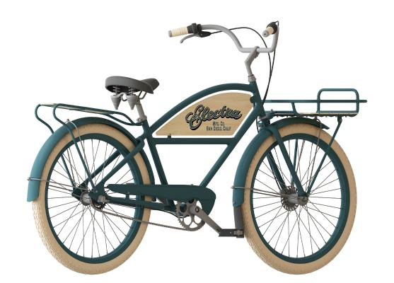 復古自行車3D模型【ID:441755604】