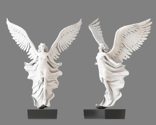 欧式雕像3D模型【ID:341640189】