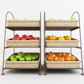 现代水果店水果架365彩票【ID:135470812】