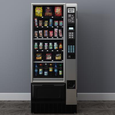 现代售货机3D模型【ID:431347554】