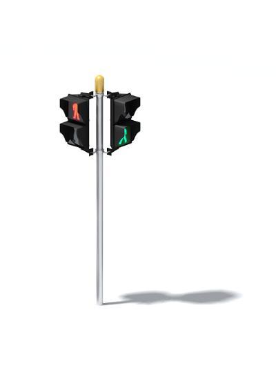 红绿灯3D模型【ID:844166593】