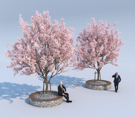 日式树3D模型【ID:145485402】