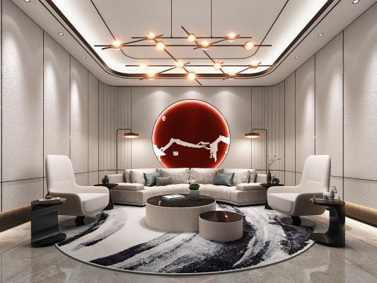 新中式贵宾接待室