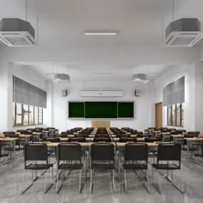 教室3D模型【ID:941229645】