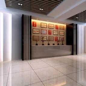 现代展厅3D模型【ID:952961729】