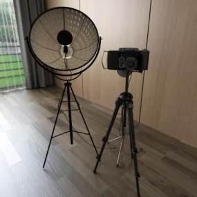 现代照相机3D模型【ID:231345716】