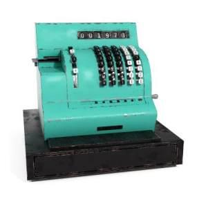 復古打字機裝飾3D模型【ID:243909553】